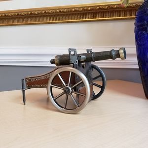 "Vintage ""Cannon"", Men's Jewelry Box"